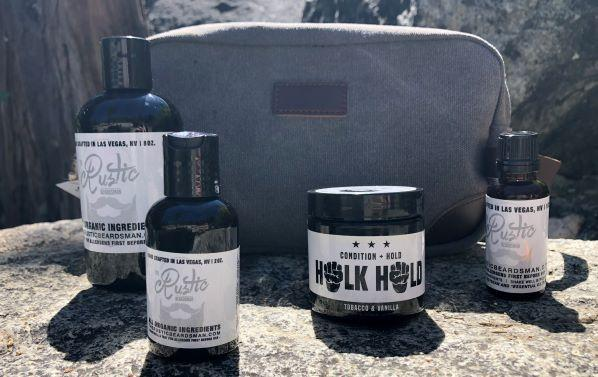 The Rustic Beardsman Beginner Beard Kit