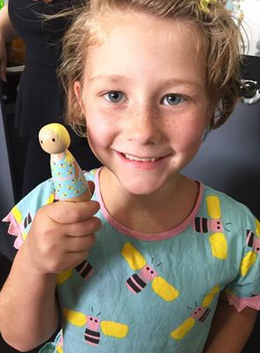 Wooden You... Beautiful Handmade Dolls for Oobi - The Happiness Blog | Oobi Girls Kid Fashion
