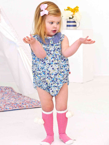Avery Romper, Sizes 0Y - 3Y - The Happiness Blog | Oobi Girls Kid Fashion