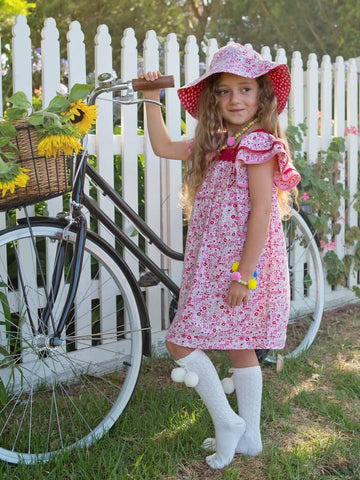 EXCLUSIVE - Wild For Wildflowers - Alex Design Notes | Oobi Girls Kid Fashion