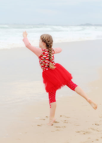 Beach Days and Ballerina Dreams - The Happiness Blog | Oobi Girls Kid Fashion