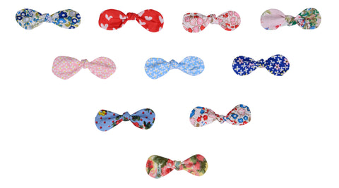 Knot Bow Clips - The Happiness Blog | Oobi Girls Kid Fashion