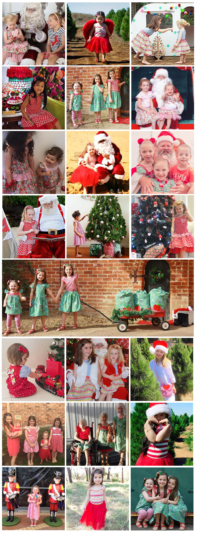 Photos We Love – Christmas Snaps - The Happiness Blog | Oobi Girls Kid Fashion