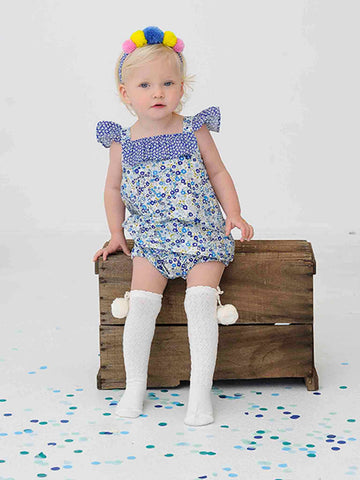 Rosie Navy Primrose Set, Sizes in 1Y - 2Y - The Happiness Blog | Oobi Girls Kid Fashion