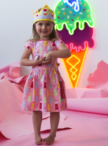 We Are Screaming For Princess Ice Cream - The Happiness Blog | Oobi Girls Kid Fashion