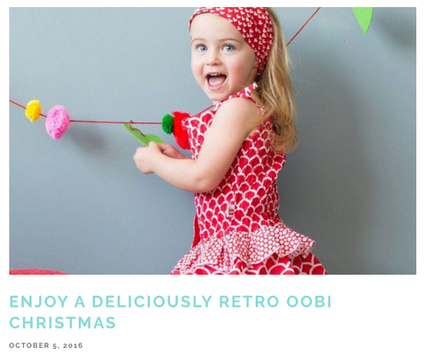 As Seen On Peekoabo Magazine - The Happiness Blog | Oobi Girls Kid Fashion