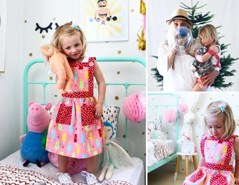 As Seen On Four Cheeky Monkeys  - The Happiness Blog | Oobi Girls Kid Fashion