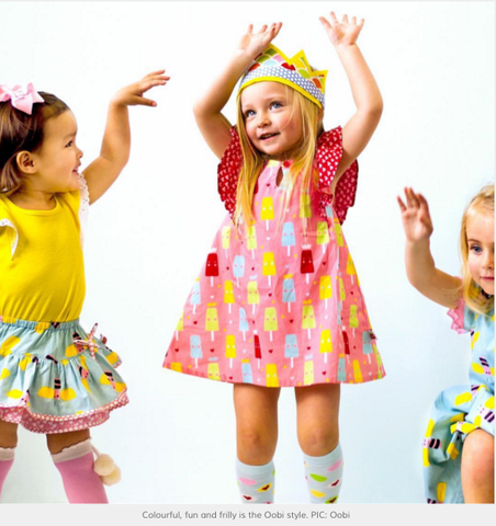 As Seen On Milliemummymelbourne - The Happiness Blog | Oobi Girls Kid Fashion