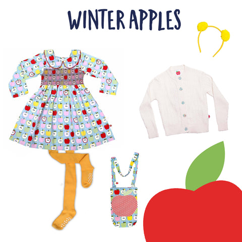 Winter Dresses and Accessories for Girls