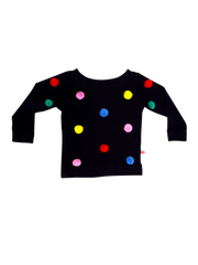 100% Cotton Sweatshirt Sweater - Hello Sprinkles! - Alex Design Notes | Oobi Girls Kid Fashion
