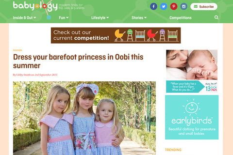 Oobi On Babyology - The Happiness Blog | Oobi Girls Kid Fashion