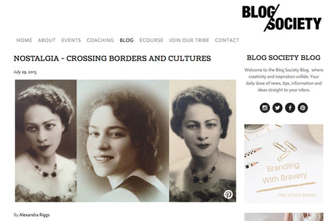 Nostalgia - Crossing Borders And Cultures - Alex's Design Notes | Oobi Girls Kid Fashion
