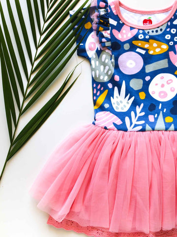 Tulle dress for tweens