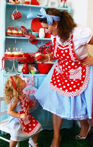 Aprons for mums and kids