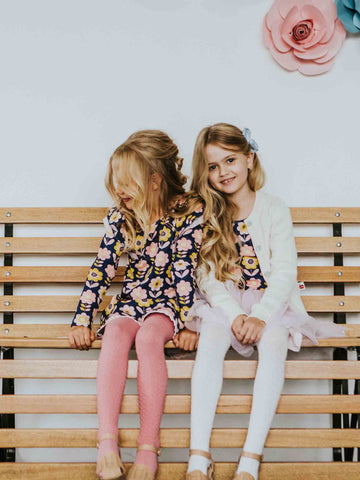 Scandi Flower Winter Collection for Girls