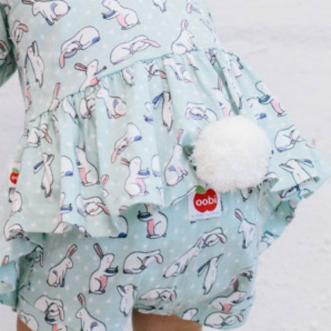 Bunny Tail Brooches - Easter With Mr Bun Bun - The Happiness Blog | Oobi Girls Kid Fashion