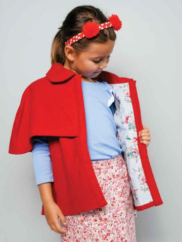 Nightingale Woollen Winter Coat For Girls