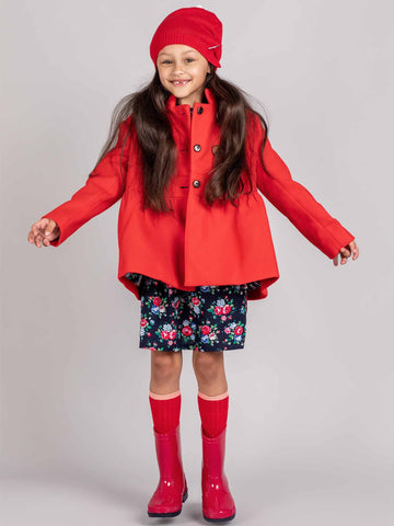 Red coat for kids