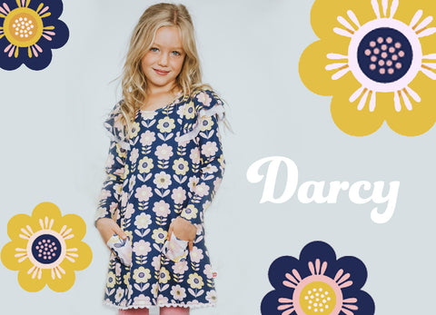 Girls Flower Dresses