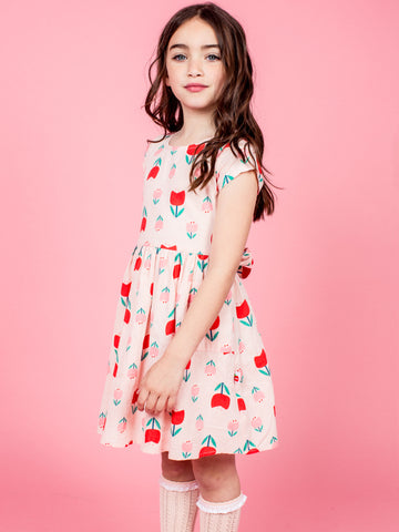 Flower dress for girls