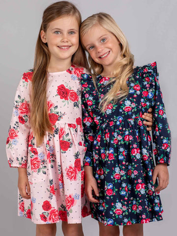 Flower dresses for girls