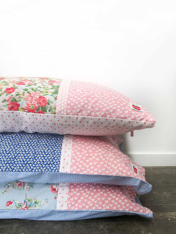 Floral pillowcase