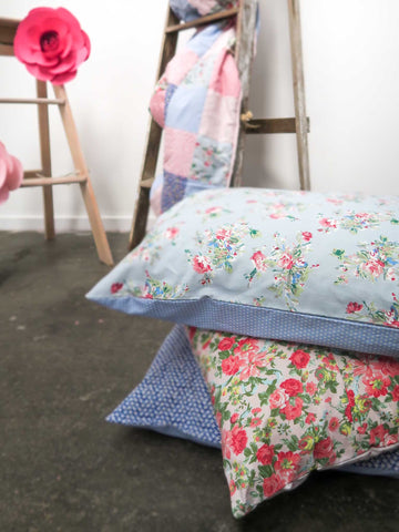 Floral pillowcases