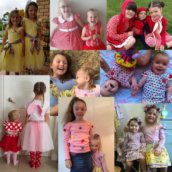 Oobi-Licious Sisters - The Happiness Blog | Oobi Girls Kid Fashion