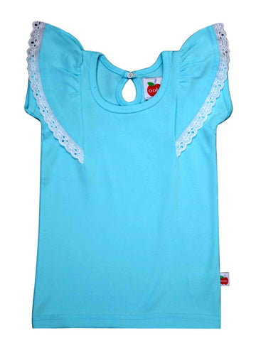 Flutter Sky Tee, Sizes in 6M - 12Y - The Happiness Blog | Oobi Girls Kid Fashion