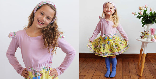 The Zoe Dress In Various Sizes - The Happiness Blog | Oobi Girls Kid Fashion