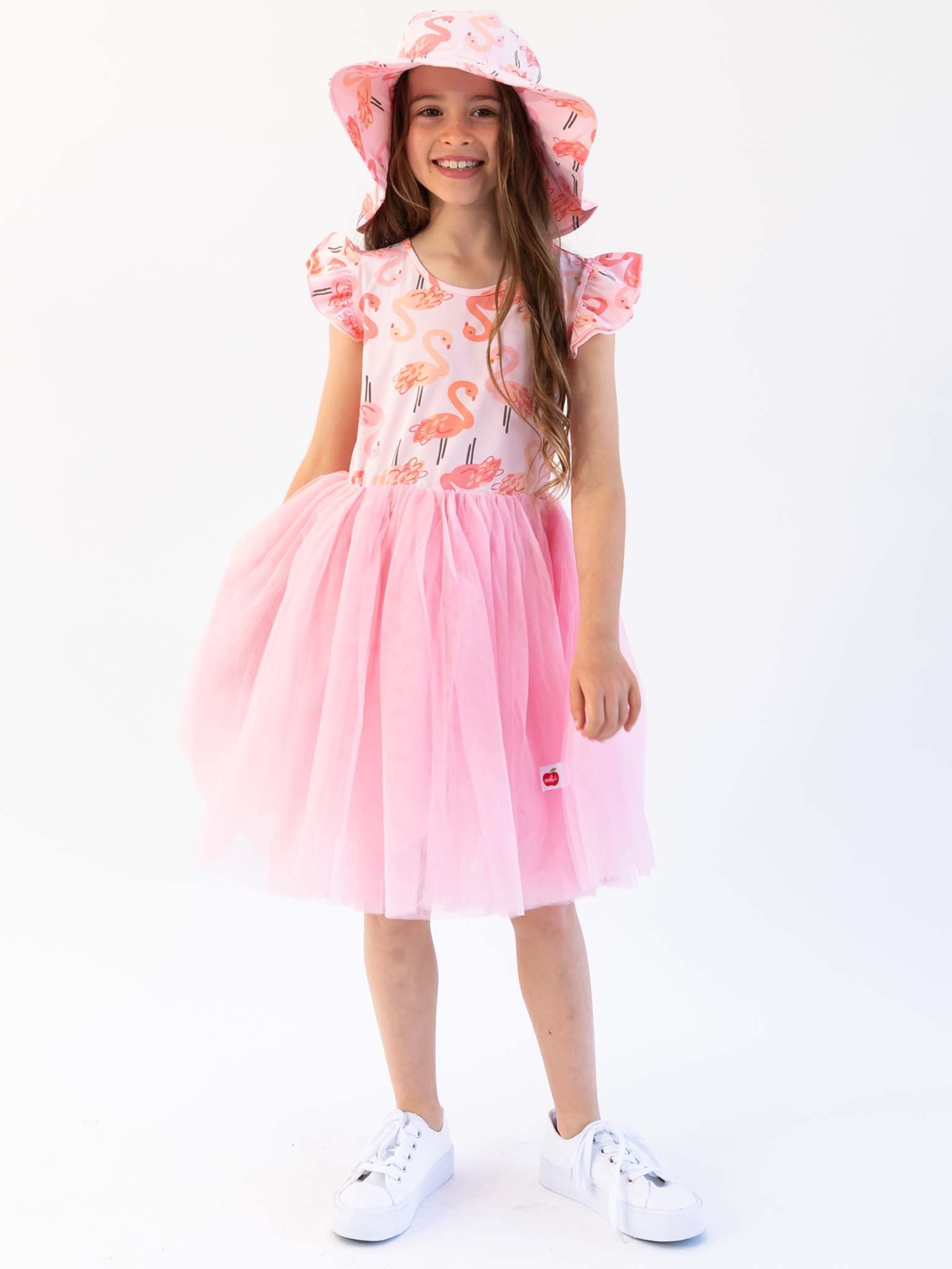 Ariel Flamingo Dress