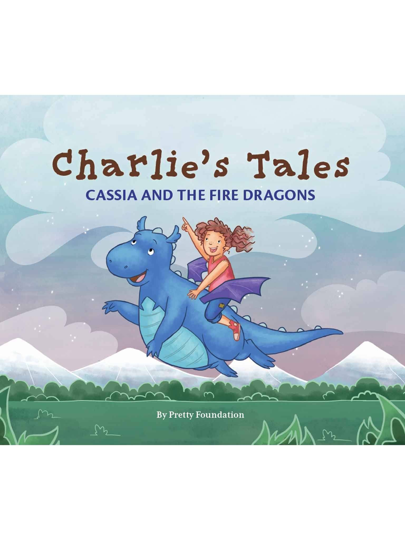 Charlie's Tales Cassia and the Fire Dragons, Books - Oobi Girls Kid Fashion