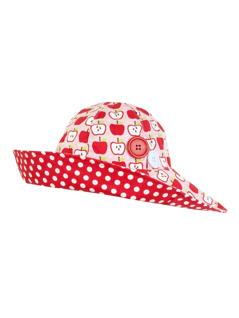 Bridgette Wide Brim Hat Classic Apple