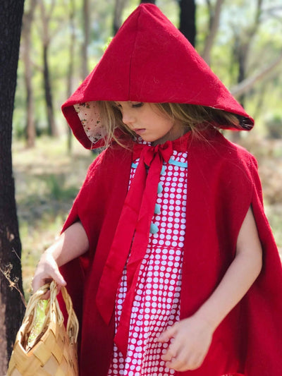 Red Riding Hood, Jackets & Capes - Oobi Girls Kid Fashion