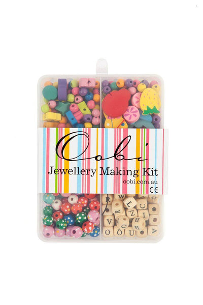 Large Jewellery Making Kit, Accessories - Oobi Girls Kid Fashion