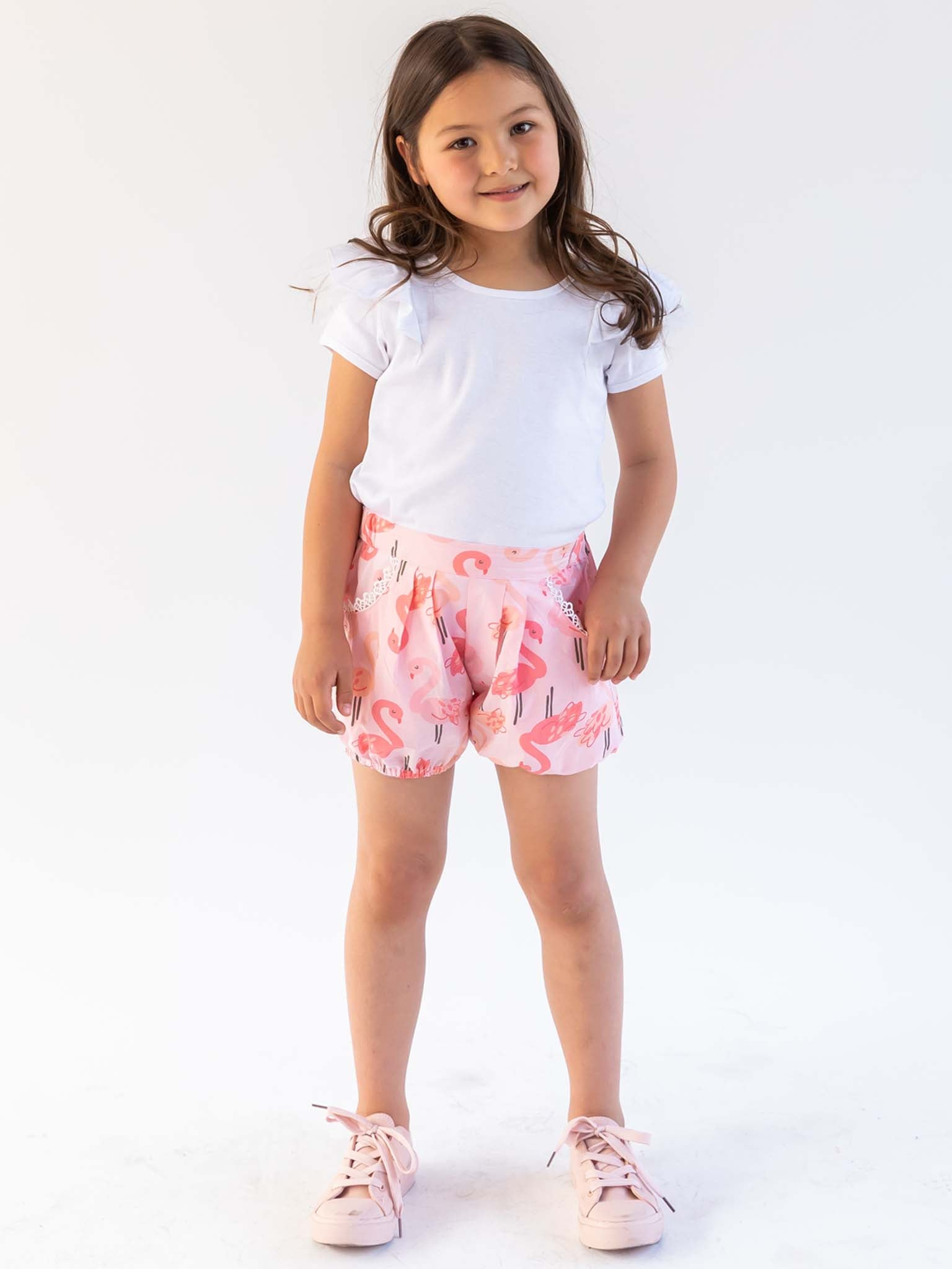 Marnie Flamingo Shorts
