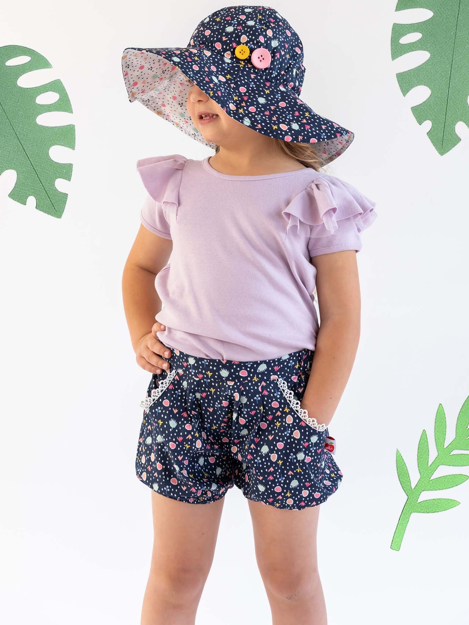 Navy shorts for kids