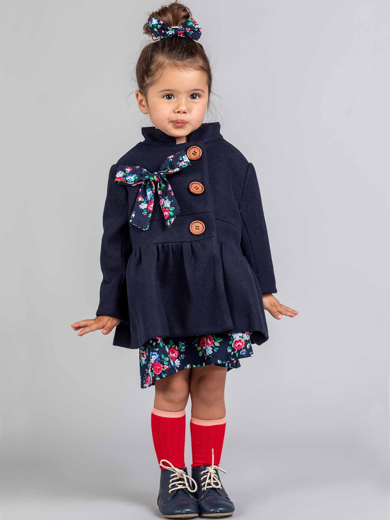 Madeline Coat Deep Navy