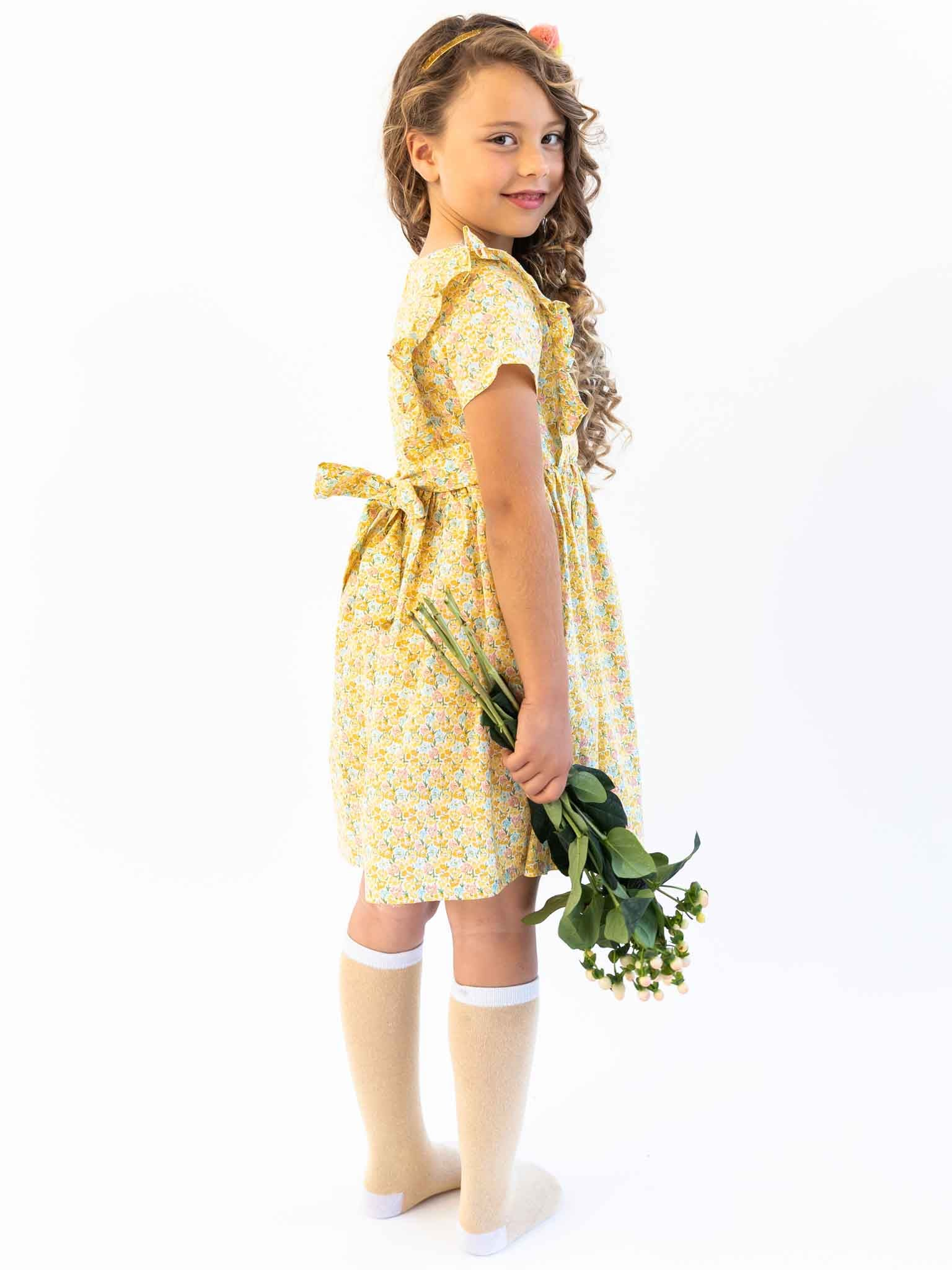 Penelope Honey Wattle Dress