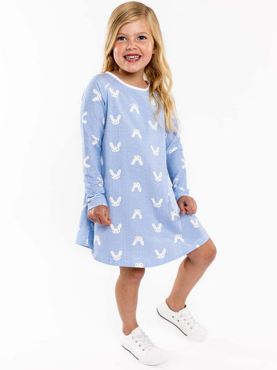 Blue bunny dress