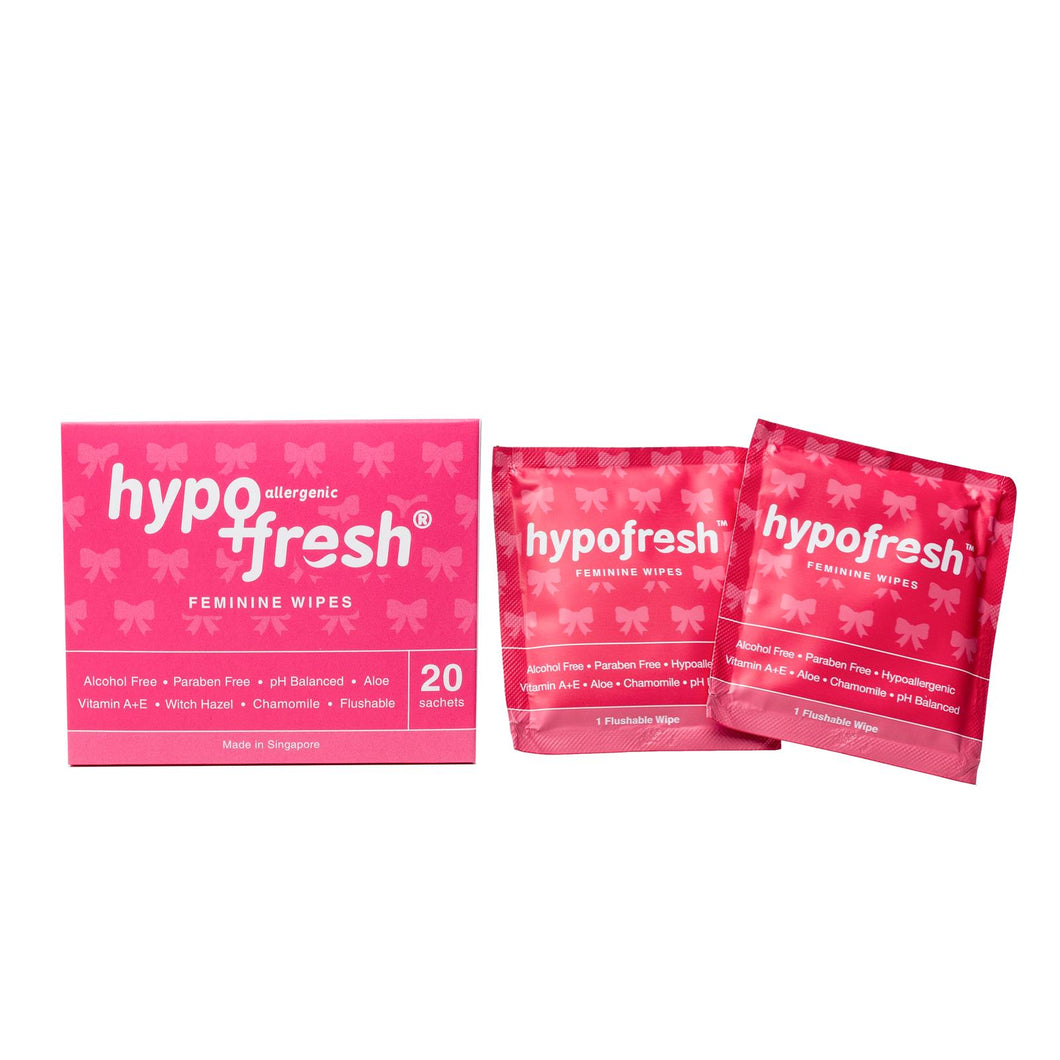 Feminine Wipes (20 sachets)