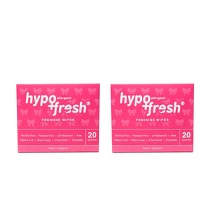 Feminine Wipes (2 boxes of 20 sachets)