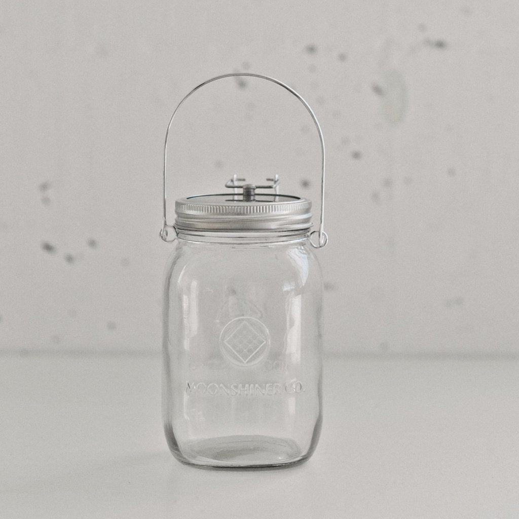 Moonshiner Co. Solar Mason Jar