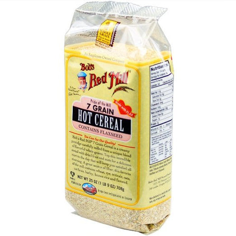 Grains organic commonwealth bobs red mill 7 grain cereal 25 oz pack of ccuart Choice Image