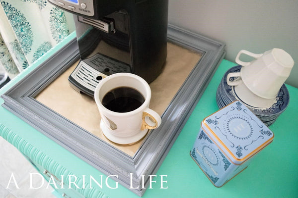 {Guest Blog} Re-purpose a Thrift Store Frame into a Serving Tray
