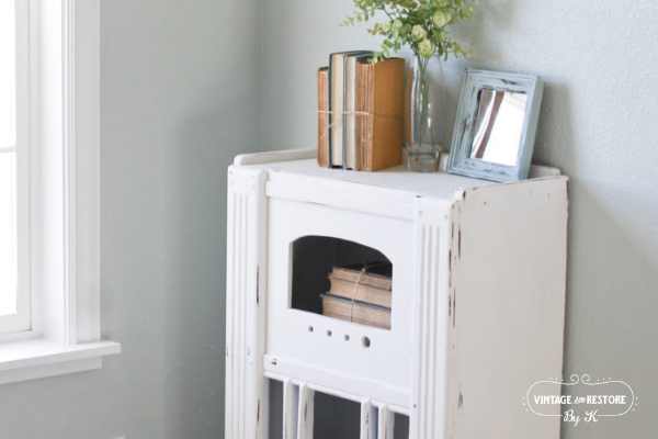 Furniture Painting Project Ideas: Vintage Radio Transformation
