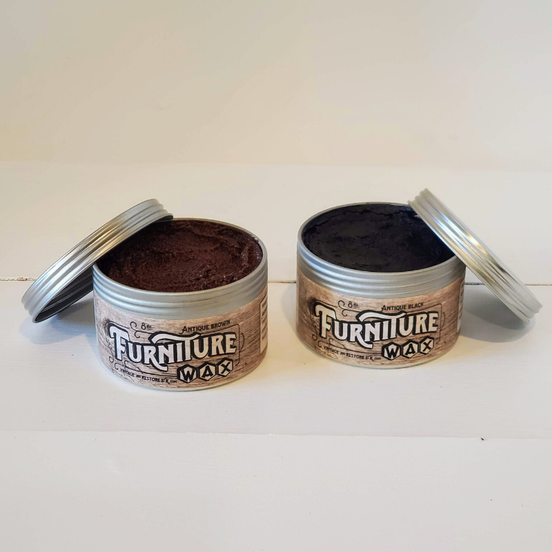All Natural Dark Antique Furniture Wax - Vintage And Restore By K