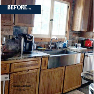 {SAVE!} Kitchen Cabinet Paint Kit - Vintage And Restore By K