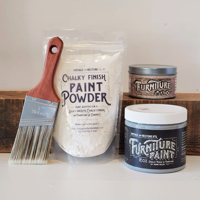 Furniture Paint and Paint Powder Starter Kit