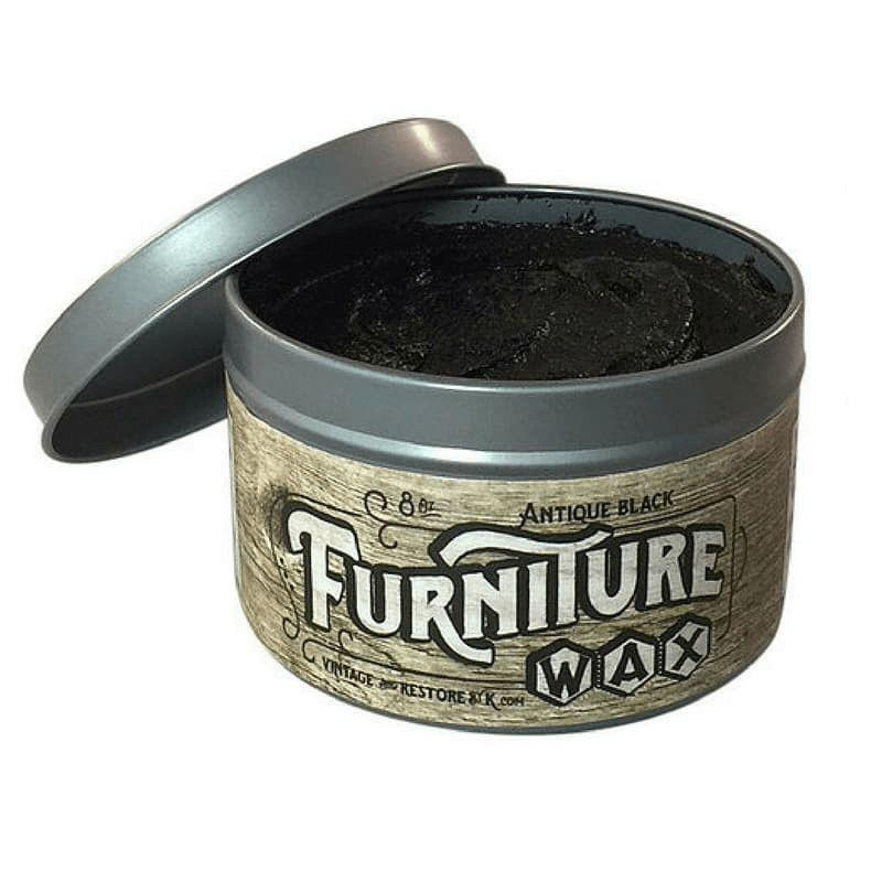 All Natural Antique Black Furniture Wax - Vintage And Restore By K